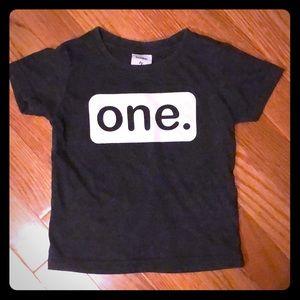 1st Birthday Tshirt